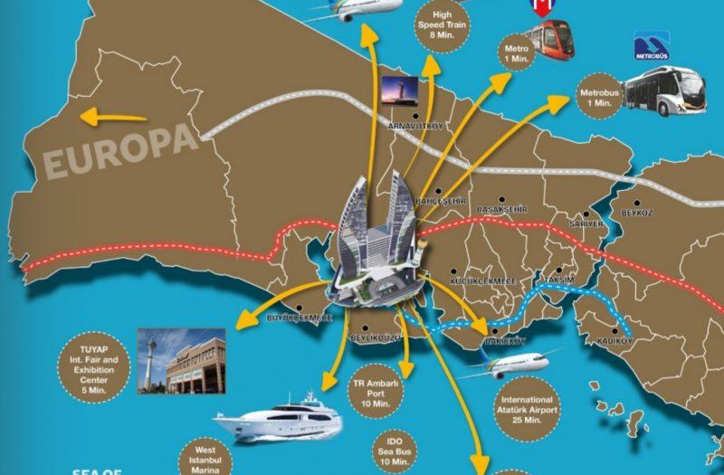 Esenyurt Delta Dubai compart 2+1 daire